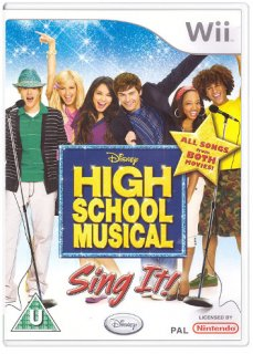 Диск High School Musical: Sing It (Б/У) [Wii]