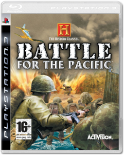 Диск History Channel : Battle for the Pacific [PS3]