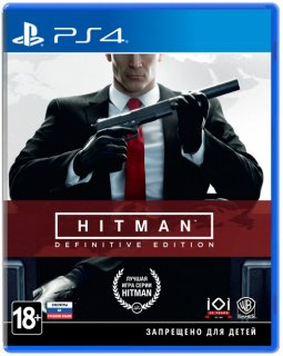 Диск Hitman Definitive Edition [PS4]