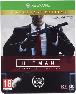 Диск Hitman Definitive Edition - Steelbook Edition [Xbox One]