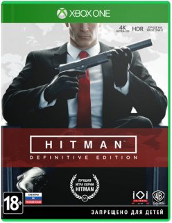 Диск Hitman Definitive Edition [Xbox One]