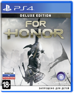 Диск For Honor - Deluxe Edition [PS4]