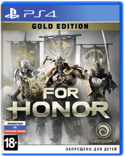 Диск For Honor - Gold Edition [PS4]