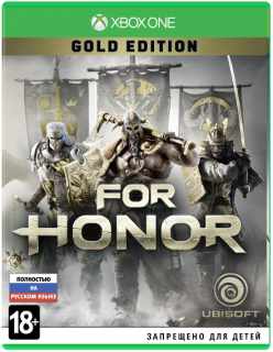 Диск For Honor - Gold Edition [Xbox One]