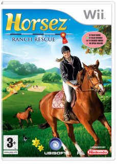 Диск Horsez Ranch Rescue [Wii]