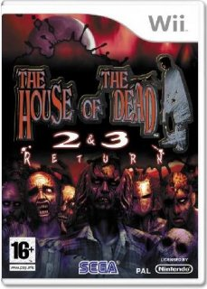 Диск The House Of The Dead 2&3 Return [Wii]