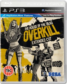 Диск House of the Dead Overkill Extended Cut [PS3]
