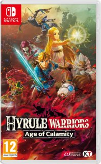 Диск Hyrule Warriors: Age of Calamity [NSwitch]