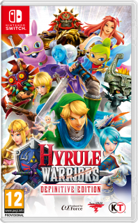 Диск Hyrule Warriors: Definitive Edition [Nswitch]