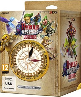Диск Hyrule Warriors Legends - Limited Edition [3DS]