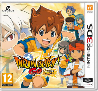 Диск Inazuma Eleven Go - Light (Б/У) [3DS]