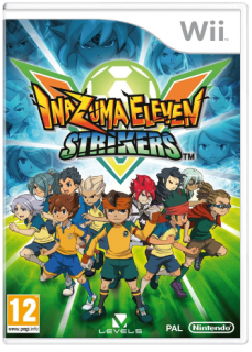 Диск Inazuma Eleven: Strikers (Б/У) [Wii]
