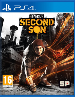 Диск inFamous: Second Son (Б/У) [PS4] (не оригинальная полиграфия)