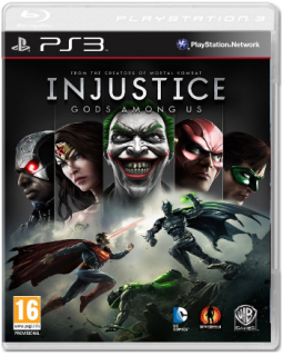 Диск Injustice: Gods Among Us [PS3]