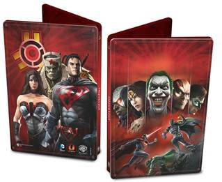 Диск Injustice: Gods Among Us - Special Steelbook Edition [PS3]