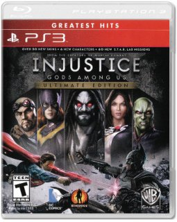 Диск Injustice: Gods Among Us - Ultimate Edition (US) (Б/У) [PS3]