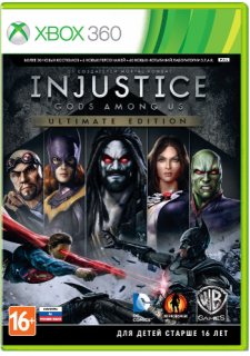 Диск Injustice: Gods Among Us - Ultimate Edition (Б/У) [X360]