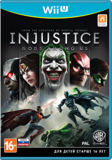 Диск Injustice: Gods Among Us (Б/У) [Wii U]