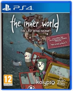 Диск The Inner World: The Last Wind Monk [PS4]
