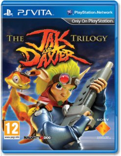 Диск Jak and Daxter Trilogy (Б/У) [PS Vita]