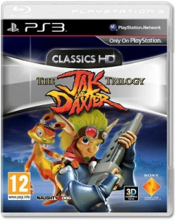 Диск Jak and Daxter Trilogy (Б/У) [PS3]