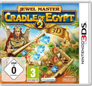 Диск Jewel Master: Cradle of Egypt 2 (Б/У) (без коробочки) [3DS]