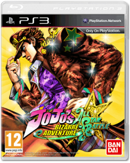 Диск Jo Jo's Bizarre Adventure All Star Battle [PS3]