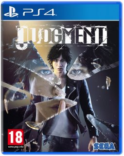 Диск Judgment - Day One Edition [PS4]