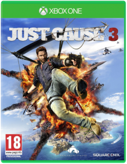 Диск Just Cause 3 [Xbox One] (анг. версия)