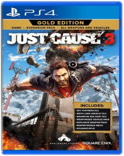 Диск Just Cause 3 - Gold Edition (Англ. яз.) [PS4]