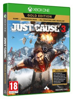 Диск Just Cause 3 - Gold Edition [Xbox One]