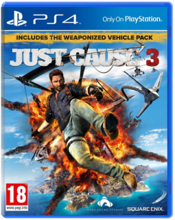 Диск Just Cause 3 - Day 1 Edition [PS4]