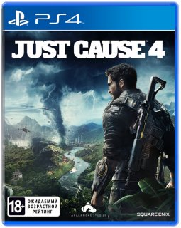 Диск Just Cause 4 (Б/У) [PS4]