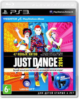Диск Just Dance 2014 [PS3]