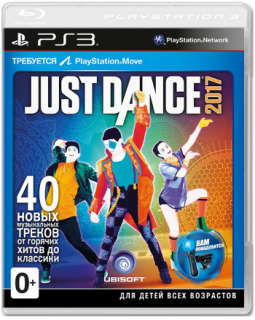 Диск Just Dance 2017 [PS3]