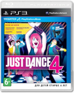 Диск Just Dance 4 [PS3]