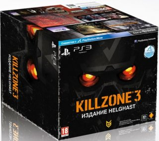 Диск Killzone 3 Helghast Edition [PS3, PS Move]