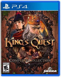 Диск King's Quest The Complete Collection (Б/У) (US) [PS4]