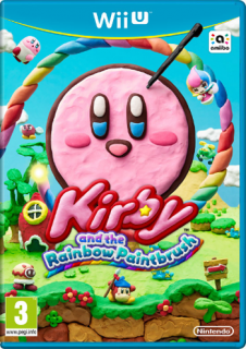 Диск Kirby and the Rainbow Paintbrush (Б/У) [Wii U]