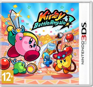 Диск Kirby Battle Royale [3DS]
