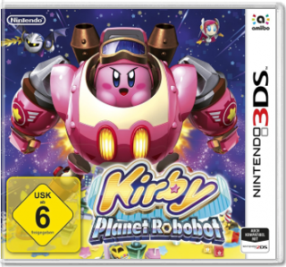 Диск Kirby: Planet Robobot [3DS]