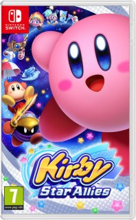 Диск Kirby Star Allies (Б/У) [NSwitch]