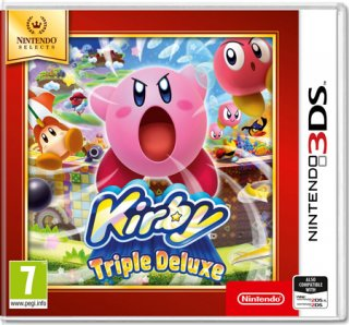 Диск Kirby Triple Deluxe [3DS]