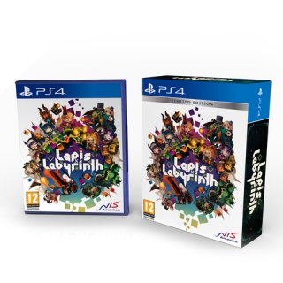 Диск Lapis x Labyrinth Limited Edition [PS4]