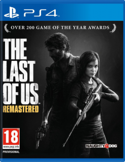 Диск Одни из нас (The Last of Us) - Remastered [PS4] (bundle copy)