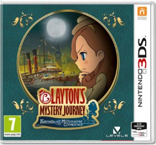 Диск Layton's Mystery Journey: Katrielle and the Millionaires' Conspiracy [3DS]