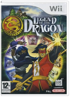 Диск Legend of the Dragon [Wii]