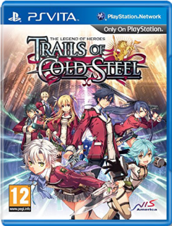 Диск Legend of Heroes: Trails of Cold Steel [PS Vita]