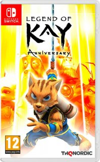 Диск Legend of Kay Anniversary [NSwitch]