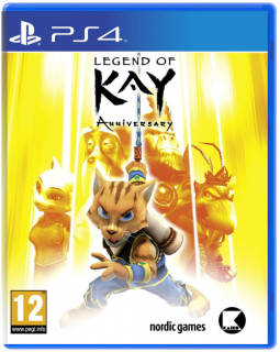 Диск Legend of Kay Anniversary [PS4]